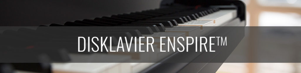 Yamaha disklavier, player piano, yamaha enspire