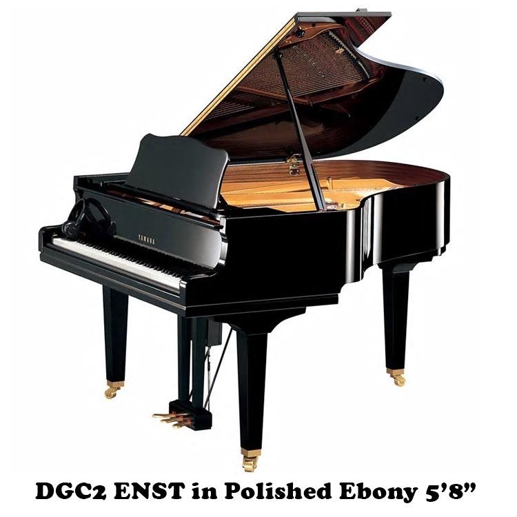 "DGC2 ENST yamaha disklavier player piano 5'8"""