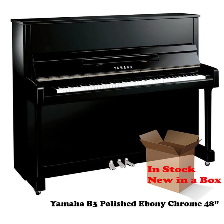 Yamaha B3 PE Polished Ebony