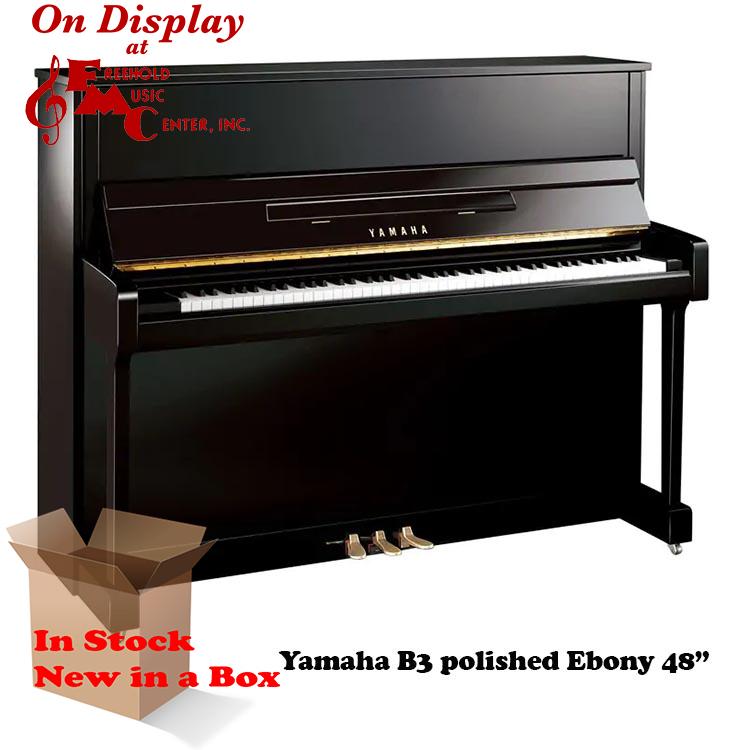 Yamaha B3 PEC Polished Ebony Chrome