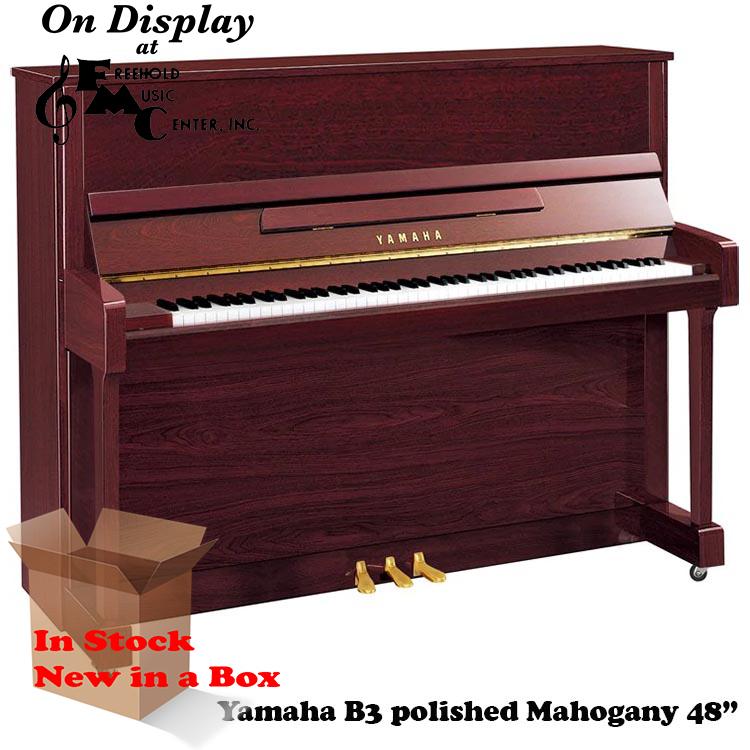 Yamaha B3 PM Polished Mahogany