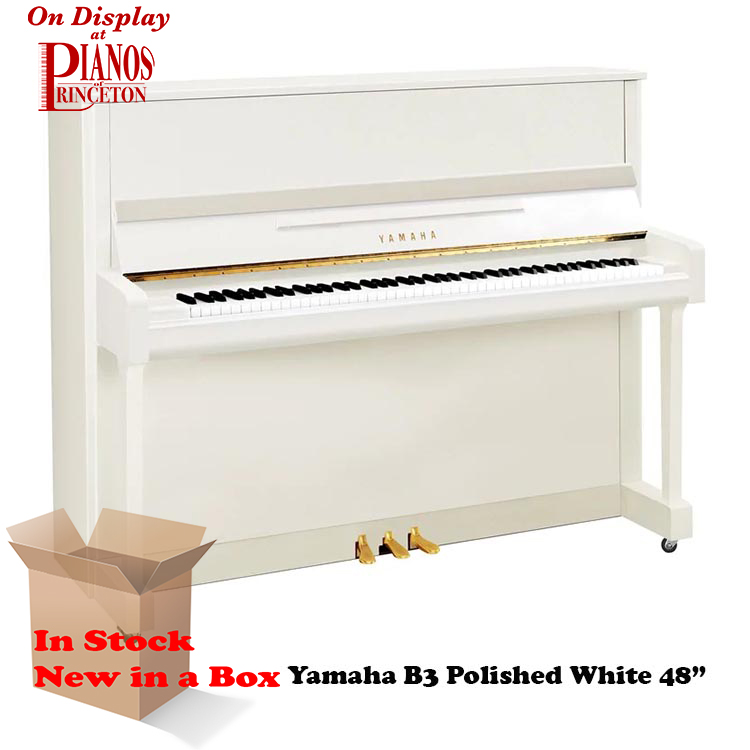 Yamaha B3 PWH Polished White