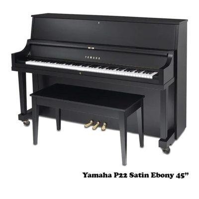 Yamaha P22 in Satin Ebony