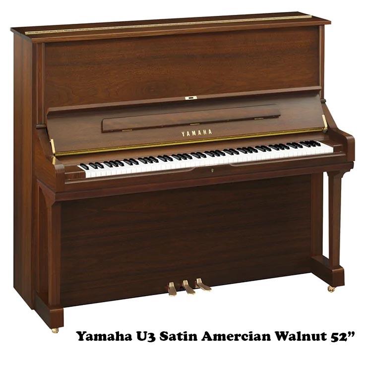 Yamaha U3 in Satin Walnut