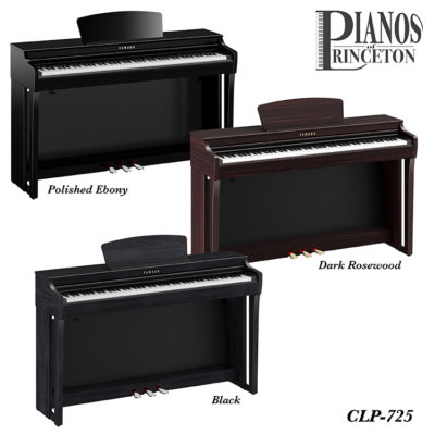 Yamaha CLP-725 Finish Options