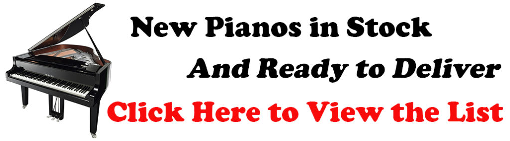 in stock pianos