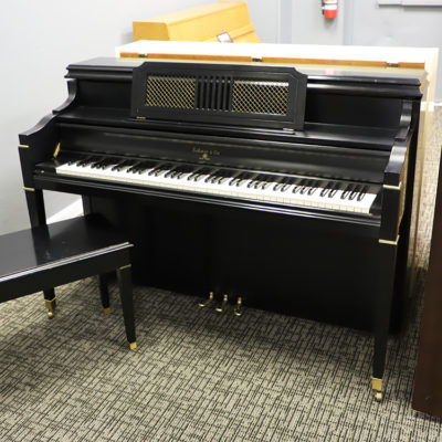 Sohmer Upright Piano for sale satin black